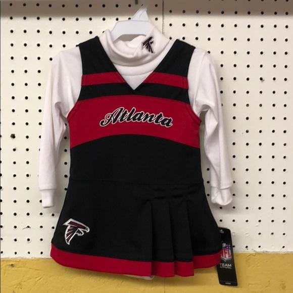 Atlanta Falcons OuterStuff NFL Newborn and Infant 2 Piece Creeper Set